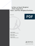 EDHEC Working Paper Equal-Weighted Portfolio