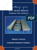 Att Inox Drain Polonia - Rigola Standard - Cu Gratar - Eng