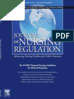 The NCSBN National Nursing Guidelines for Medical Marijuana JNR July 2018