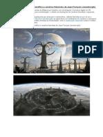 As Ilustrações 3D de Ficção Científica e Cenários Futuristas