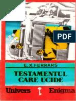 E.X.Ferrars - Testamentul care ucide [v1.0].doc