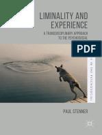 2017 Book LiminalityAndExperience