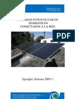 Sistema Fotovoltaico Conectado Ared