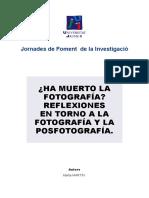 Muerte de la Fotografía