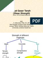 Bab 9-Kuat Geser Tanah-class 1.ppt