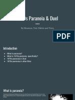 Duel & 1970s Paranoia