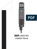 Sailor/Skanti c4901 installation manual