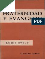 115548020 Evely Louis Fraternidad y Evangelio