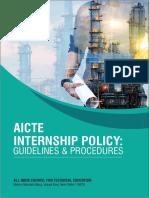 AICTE Internship Policy