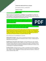 MÉTODOS DE EXTRACCIÓN DE ACEITES ESENCIALES