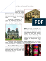 Famous Art Objects and Crafts in the Visayan Islands - GRADE 7