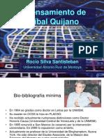 34860151 El Pensamiento de Anibal Quijano