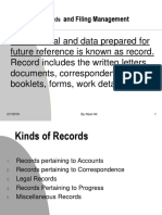Office Records and Filing Management Third Chapter