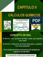 Capitulo II Calculos Químicos