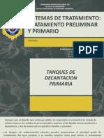 8. Sistemas de Tratamiento-tratamiento Preliminar y Primario