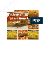 Ricette Pizza Bonci