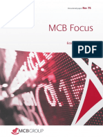 La MCB revoit à la baisse ses prévisions de croissance pour 2019