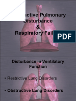 Obstructive Pulmonary Disturbance and Respiratory Failure Nu