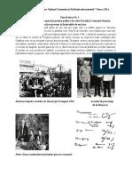 0 Fise de Lucru Romania Postbelica Cls. 12