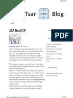 Asa Dual Isp