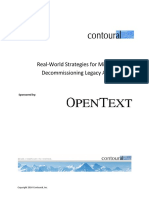 Contoural Migrating and Decommissioning Legacy Applications White Paper