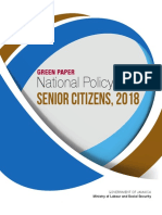 Green Paper National Policy Senior Citizens 2018