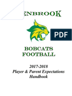 2017 Football Parent Handbook