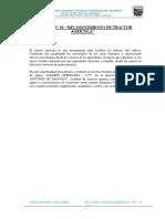 Informe Reconocimiento Tractor Agricola