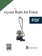 Manual de Utilizare Hydra Rain Jet Force 112