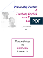Personality Factors Slide