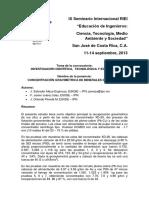 2. Concentración Gravimétrica de Minerales (Salvador Mesa, Juárez Islas, Orlando Pineda)
