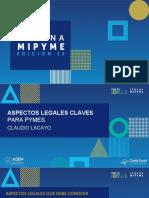 Aspectos Legales Claves Para Pymes