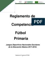 Primaria FUTBOL reglamento.pdf