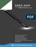 MKE 600 User Manual