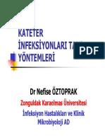 Kateter infeksiyonlari Tani Yöntemler-gram Boyama