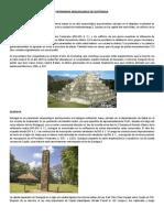 Patrimonio Arqueologico de Guatemala