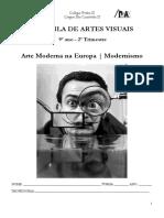 Arte Moderna Na Europa - Modernismo 2