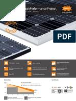 Bisol PV panel datasheet