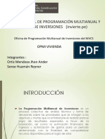 Sistema Nacional de Programación Multianual y Gestión De