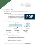 ACI 318-08 Example 001