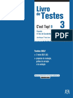 Livro de Testes Francês 3