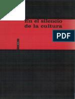El Silencio de La Cultura Carmen Pardo