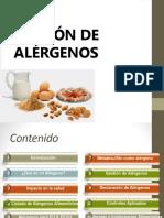 Gestión de Alergenos