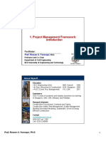01a PM Framework PMP 111111
