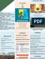 Guia Uso Biblioteca Ies Ciudad de Coín