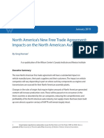 North America's New Free Trade Agreement