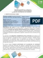 Syllabus Del Curso Nutrición de Rumiantes