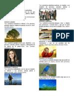 Clases de Sustantivos y Adjetivos