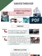 HOMICIDIO CULPOSO MEDICO.pptx