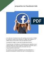 Primeira Campanha Facebook ADS